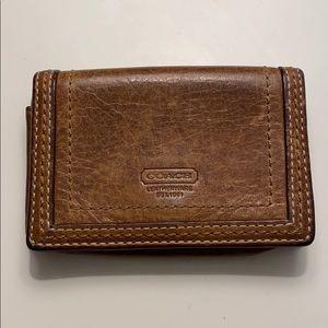 Vintage Coach Card / ID Holder